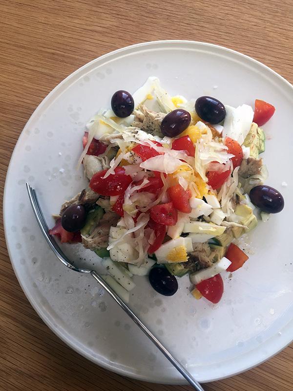 Nærende Salade Niçoise u. tun
