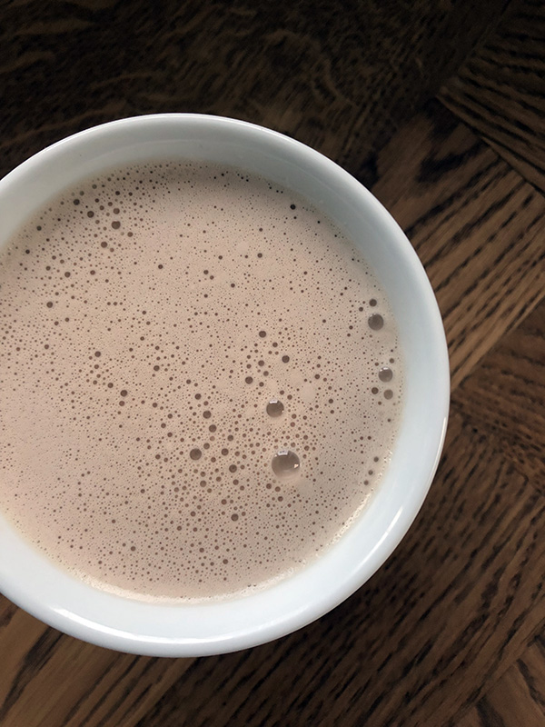 Sund varm kakao uden mælk