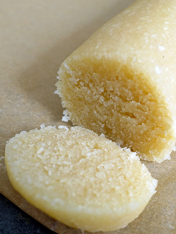 Hjemmelavet marcipan m. honning